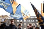 Националисты сломали АТОшнику челюсть за «Слава Украине!»