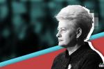 В парламенте Литвы призвали признать Грибаускайте инструментом «оккупантов»